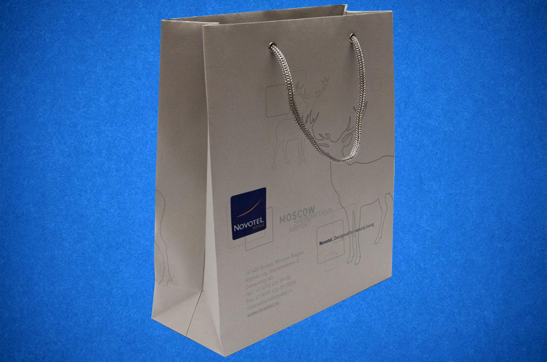 Изготовление пакетов бумажных