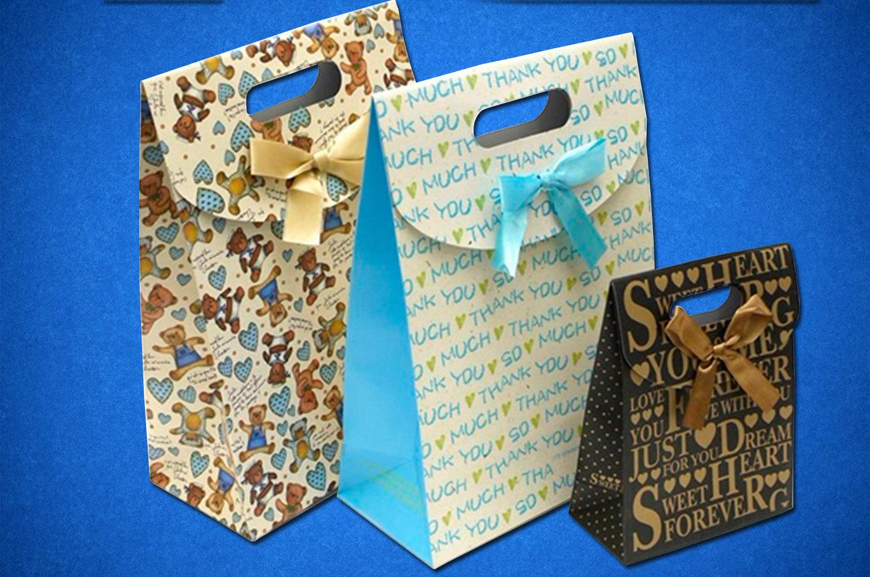 Пакеты бумажные нестандартные