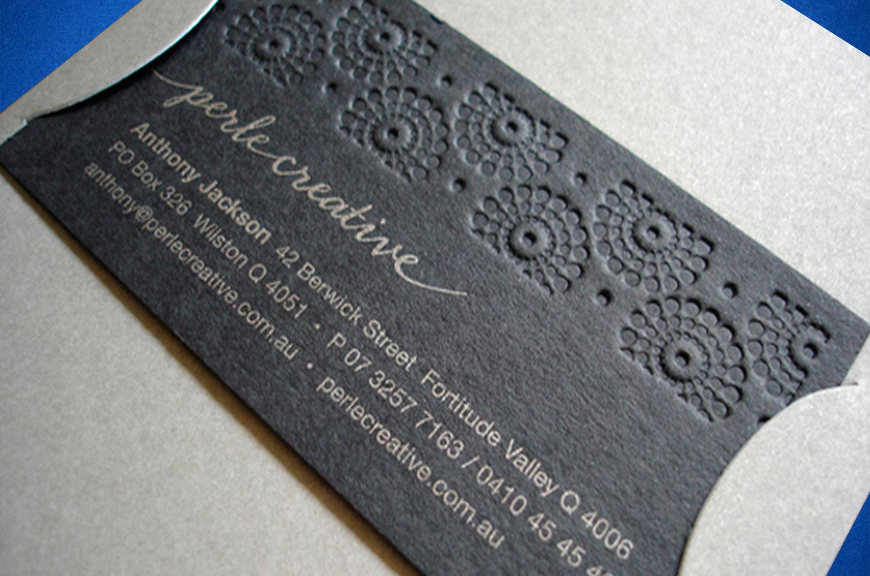 Типография открытки с тиснением