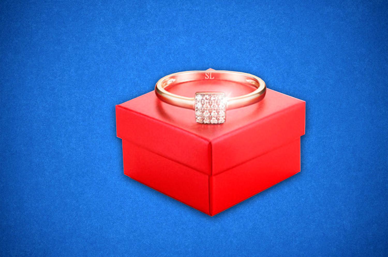 Подарочная упаковка для ювелирных украшений