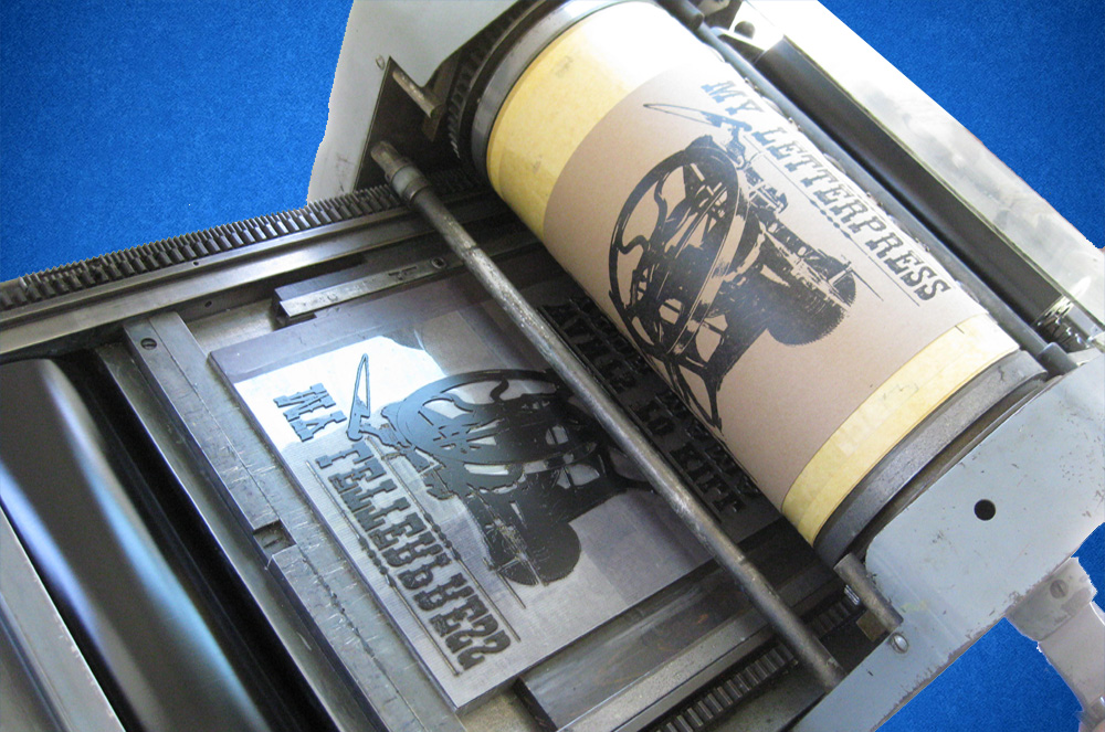 высокий способ печати