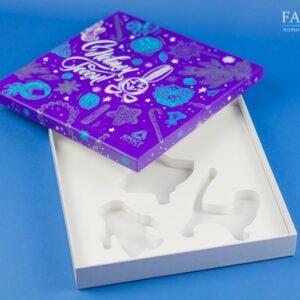 подарочная упаковка с ложементом