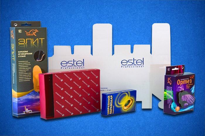 коробки с логотипом