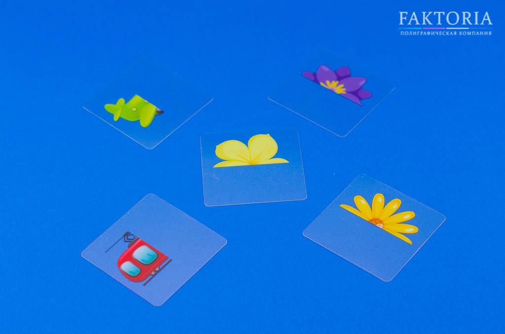 Печать на прозрачном пластике