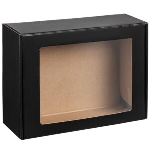Коробка с окном Visible, черная