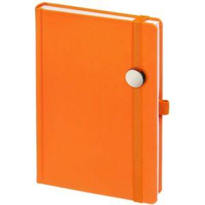 Ежедневник Favor Metal, недатированный, оранжевый