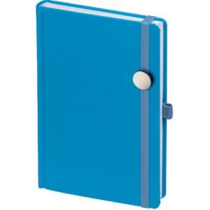 Ежедневник Favor Metal, недатированный, голубой